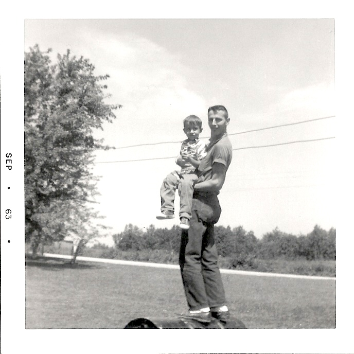 hutton family jerry & phil sept. 1963