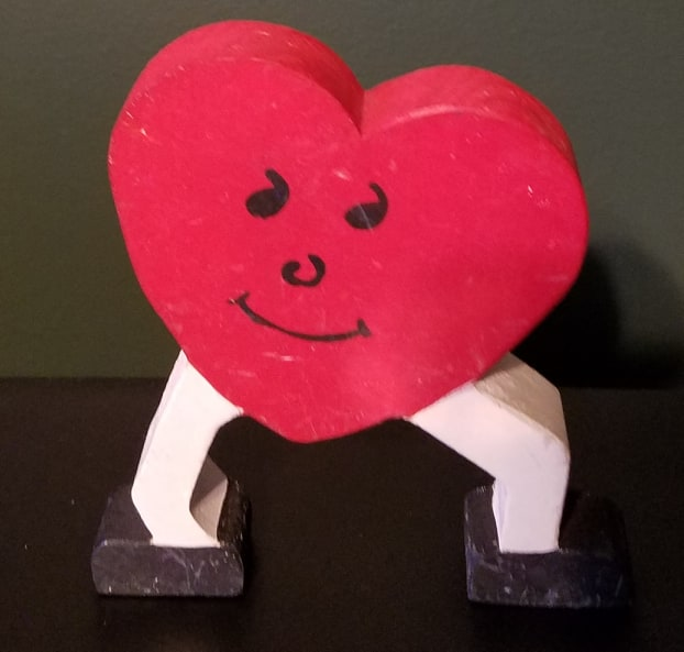 walking heart